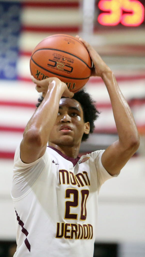 Mount Vernon's Jason Douglas-Stanley is a candidate for this year's Super 7.
