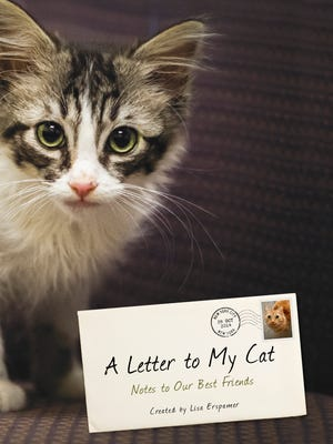 "Celebrities pen love notes to their felines in ""A Letter to My Cat"" by Lisa Erzpamer."