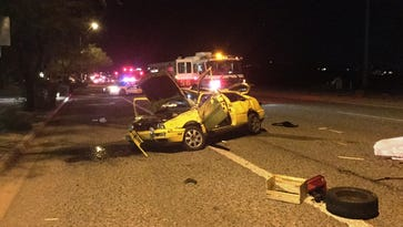 One person was killed and three were injured in a rollover accident at Carefree Highway and North Valley Parkway  Sunday.