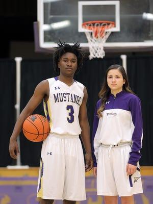 The 2016-2017 MVPs are Burges junior Jawaun Newton and senior Natalie Sanchez.