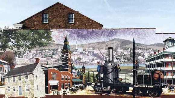 York city is home to 18 large-scale murals, including