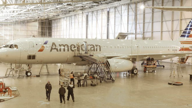 American Airlines is hastening the updating of its fleet.