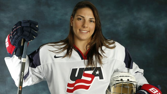 "Hilary Knight is a veteran of the U.S. team  and says of dispute with USA Hockey, ""I don't think they've ever really taken us seriously."""