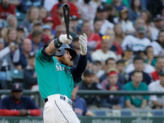 Ben Gamel was hot to start 2017, then struggled later
