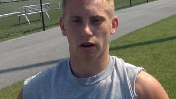Senior Matt Sparano is hoping to help get Pequea Valley past the .500 threshold.