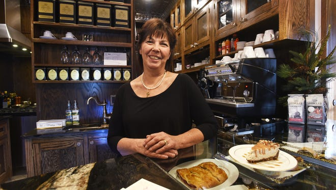 Cathy Seeley recently opened BrewBaker Cafe on Maple Avenue in Zanesville. She serves specialty coffees and homemade pastries.