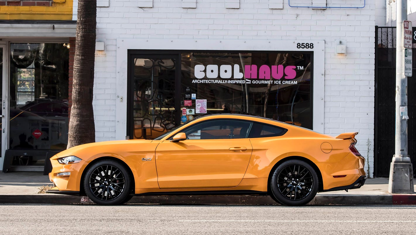 ford mustang coolhaus 39 new orange fury ice cream sandwiches. Black Bedroom Furniture Sets. Home Design Ideas