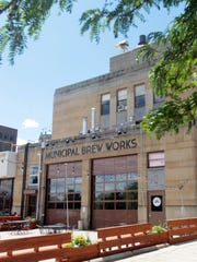 The exterior of Municipal Brew Works in Hamilton