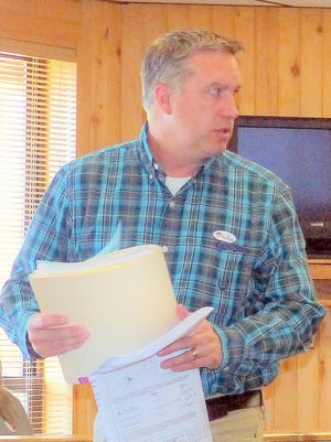Eric Collins acted as agent for the owner of Kokopelli subdivision.