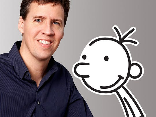 'Wimpy Kid' author Jeff Kinney and his pal Greg.