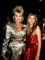 Ivana and daughter Ivanka Trump at a benefit for AIDS