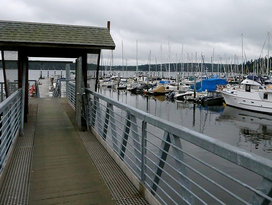 Brownsville Marina on Thursday, October 19, 2017.