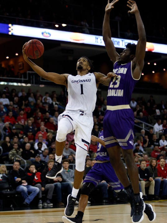 NCAA Basketball: Western Carolina at Cincinnati