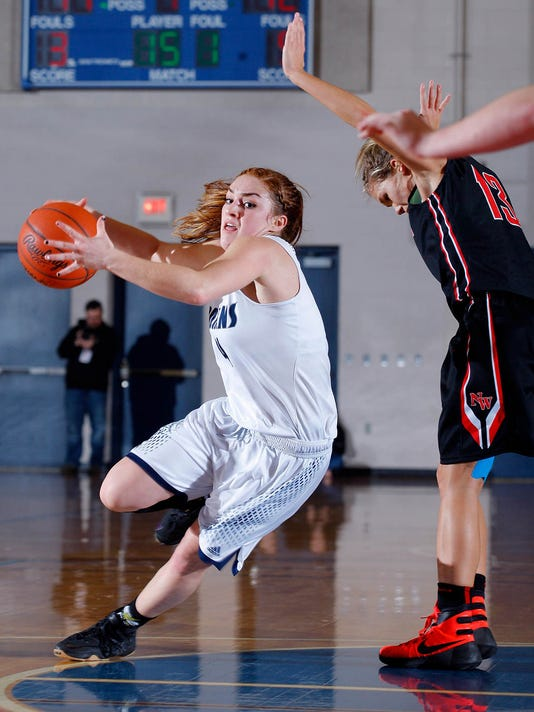 East Lansing vs Jackson NW Girls Basketball Regional Final