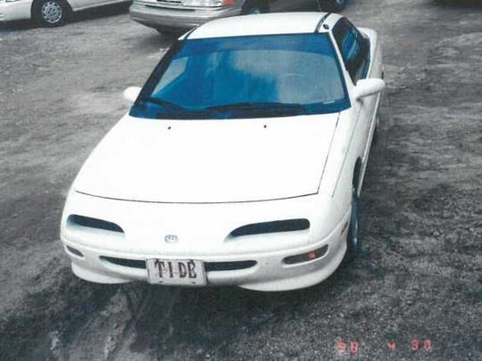 Kegley's car, a Geo Storm, was found abandoned on Old