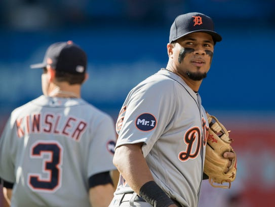 Young Tigers third baseman Jeimer Candelario is a big