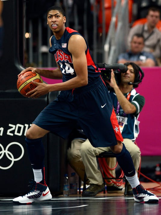 anthony davis winning olympic gold medal is number one accomplishment