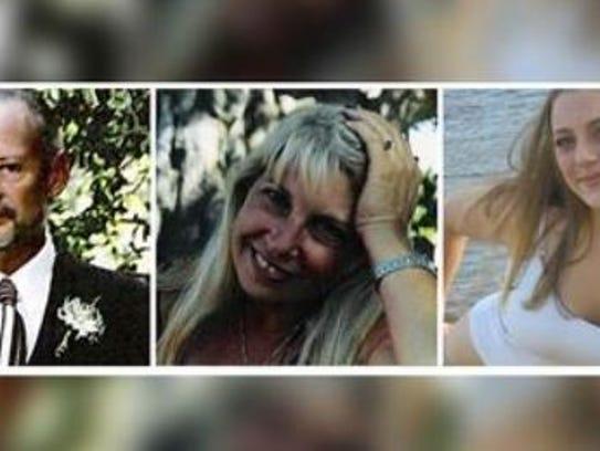 These photos show (L-R) Jon Hayward, Vicki Friedli