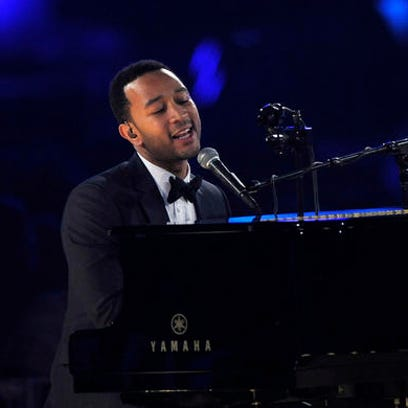 FILE - In this Feb. 8, 2013, file photo, John Legend