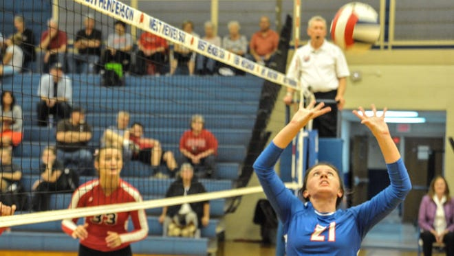 West Henderson junior setter Sierra Jones has committed to play college volleyball for Presbyterian.