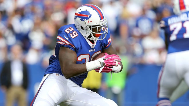 Karlos Williams has been suspended the first four games of the NFL season.