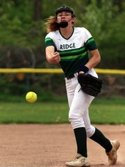 Ridge freshman right-hander Mia Robb