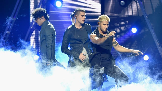 CNCO performed at the Latin Billboard Awards 2018 in April at the Mandalay Bay Events Center in Las Vegas.