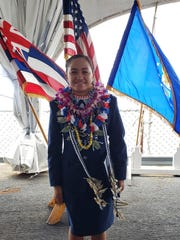 Second Lieutenant Shaniah J.S. Aguon is a 2014 graduate