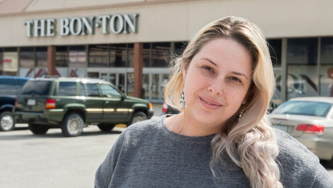 Standing outside the Queensgate Bon-Ton after news it would be closing, April Sheffer, of Dover, said she had worked at Bon-Ton for three years. She worried for her co-workers who would be losing their jobs along with 332 others in York County.