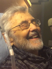 Jack Griffin, 83, chuckles while talking about his