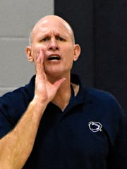 Penn State York men's head basketball coach Parrish Petry.