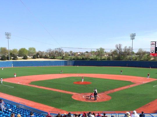 U.S. Baseball Park hosts its first high school baseball Showdown in the Park event April 6-8, 2017 in Ozark.