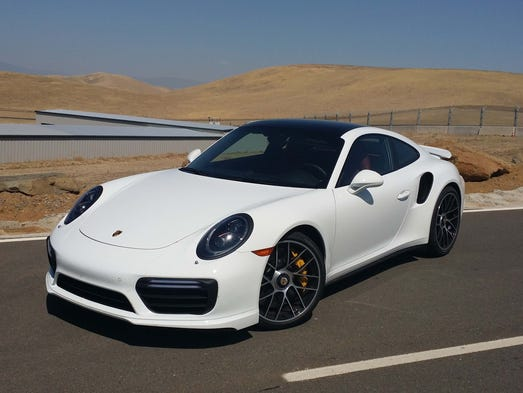 The Porsche 911 Turbo mastered the 103-degree heat
