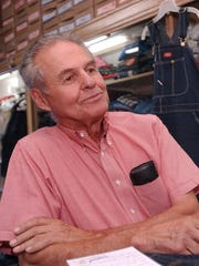 """""""Mr. Marksville"""" Raymond Laborde shown in the department store he ran in that town in 2002."""