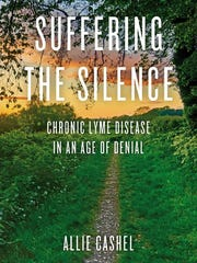 """Allie Cashel has written, """"Suffering The Silence: Chronicaling Lyme Disease in an Age of Denial. Erica Lupinacci, who suffers from Lupus, is helping her friend promote the book."""