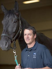 Dr. Chris Kawcak, professor of orthopaedics and director of Equine Clinical Services.