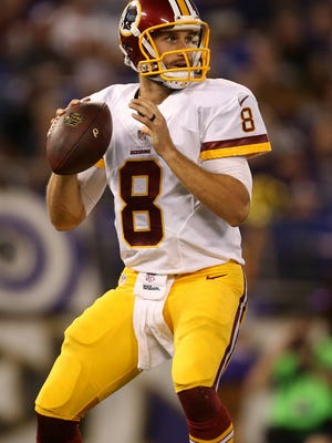 Kirk Cousins gets the nod for Week 1.