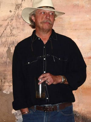 """Film critic, writer and historian Jeff Berg, shown here presenting a program about films made in New Mexico, will be in Las Cruces Nov. 21 to sign copies of his new book, """"New Mexico Filmmaking"""""""