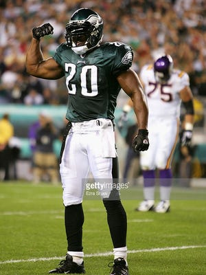 Brian Dawkins spent 13 seasons with the Eagles and finished as the team's all-time leader in interceptions.