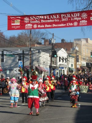 Look for plenty of clowns at this year's Snowflake Parade, Sunday, Dec. 4, in downtown Millburn.