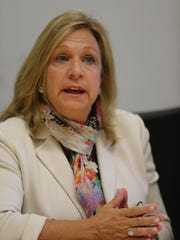 Assemblywoman Valerie Vainieri Huttle, D-Englewood