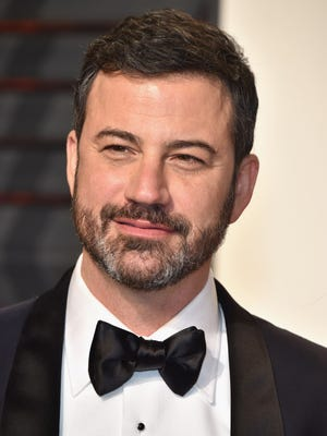Jimmy Kimmel at the Vanity Fair Oscars Party in Beverly Hills, calif. on Feb. 26, 2017.