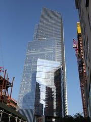 Large Manhattan skyscrapers have been built since the