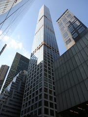 The skyscraper at 432 Park Ave. is one of the large