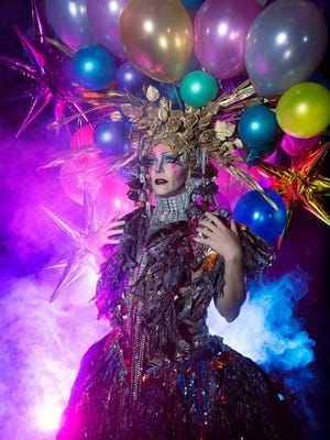 Performance artist and drag queen Taylor Mac is not well known for wearing conservative outfits.
