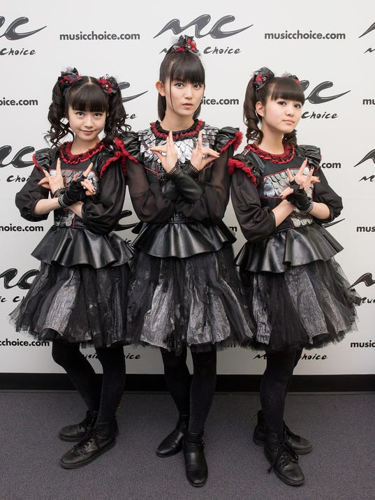 Metal Band Babymetal Visits Music Choice