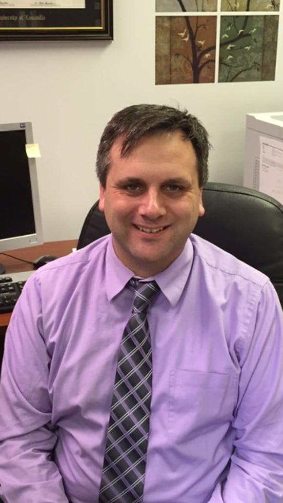 New Goldsmith Elementary Principal Jeremy Renner