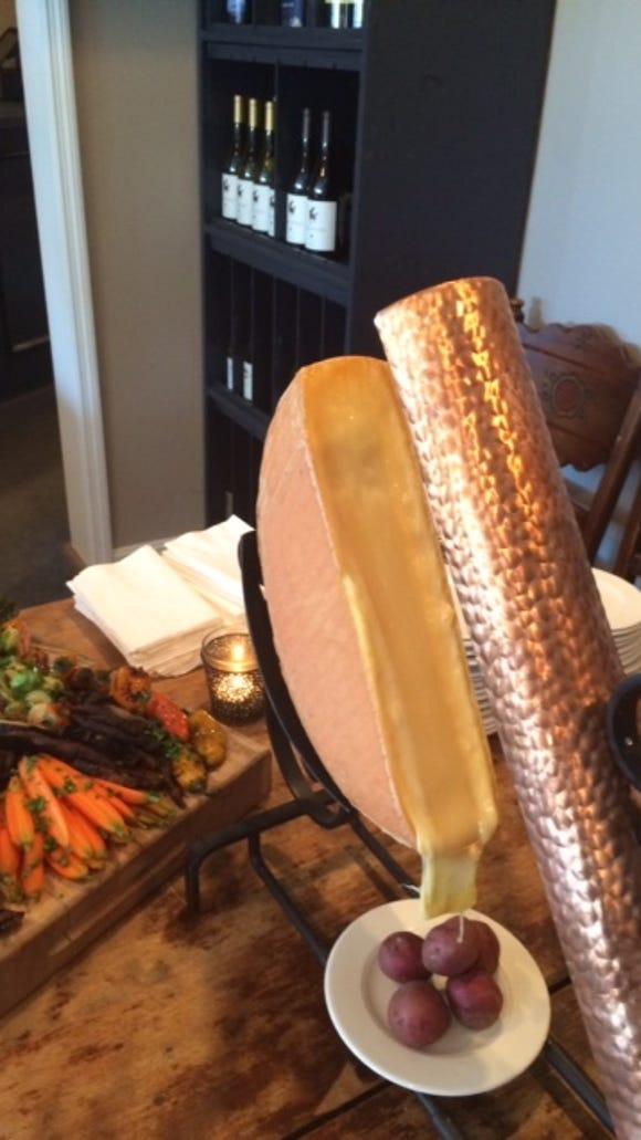 Raclette at La Petite Pierre