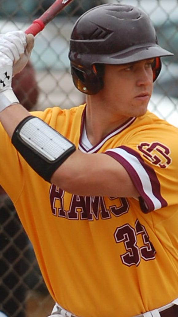 Gloucester Catholic senior first baseman Anthony Harrold