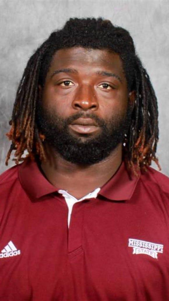 Former Mississippi State defensive lineman Quay Evans was arrested Monday night in Starkville.